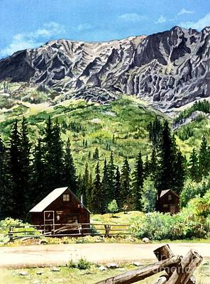 Painting - Mountain Majesty by Barbara Jewell