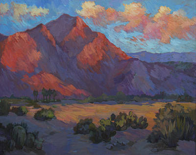 Mountain Valley Painting - Mountain Majesty by Diane McClary
