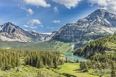 Montana Digital Art - Mountain Majesty by Jim Kuchler