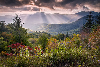 Red Leaves Photograph - Mountain Majesty by Rob Travis