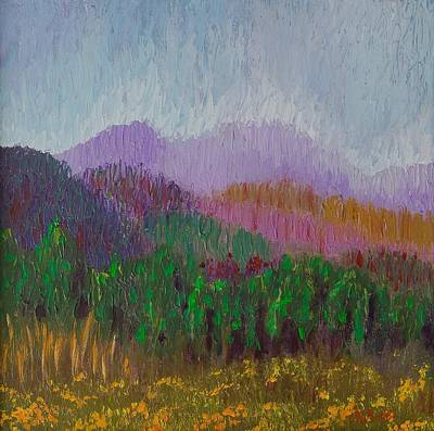 Mountain Meadow Art Print
