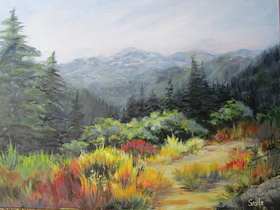 Painting - Mountain Meadow by Sharon Sorrels