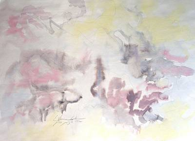 Painting - Mountain Mists by Esther Newman-Cohen