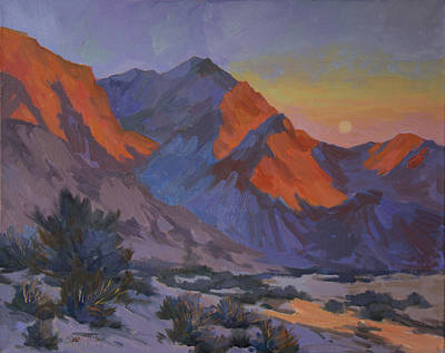 Painting - Mountain Morning by Diane McClary
