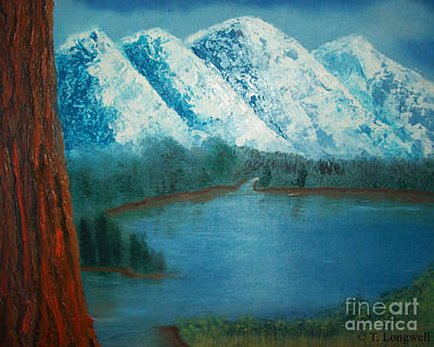 Painting - Mountain Morning by Tim Longwell