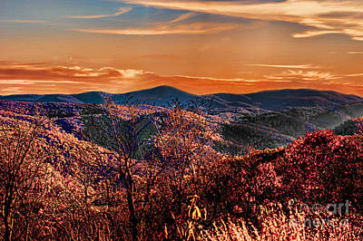 Mountain Of  Joy Art Print by B Wayne Mullins