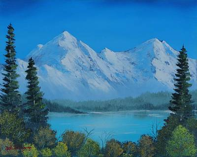 Painting - Mountain Outlook by Bob Williams
