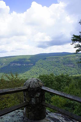 Photograph - Mountain Overlook by Laurie Perry