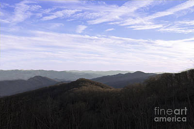 Photograph - Mountain Overlook by Michael Waters