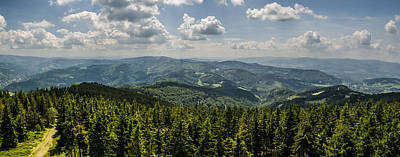 Photograph - Mountain Panorama by Jaroslaw Grudzinski