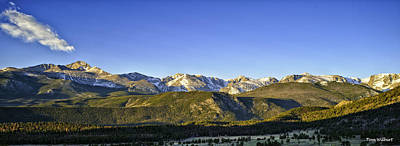 Mountain Panorama Art Print by Tom Wilbert