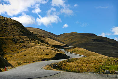 Photograph - Mountain Pass Road by Jenny Setchell