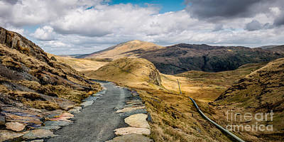Hydro Wall Art - Photograph - Mountain Path by Adrian Evans