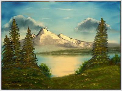 Mountain Pond Art Print by Joyce Krenson