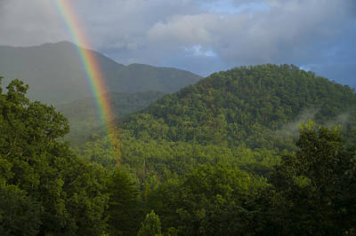 Photograph - Mountain Rainbow 2 by Larry Bohlin