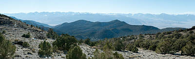 Owens Valley Photograph - Mountain Range, White Mountains by Panoramic Images