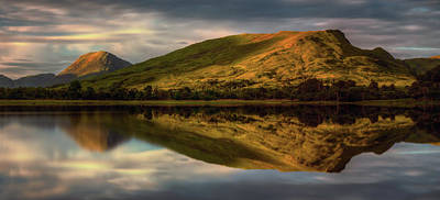 Mountain Reflection In Loch Awe Art Print by Panoramic Images