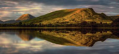 Mountain Reflection In Loch Awe Art Print