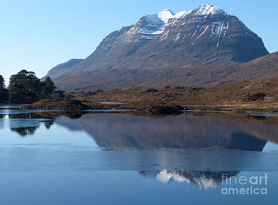 Photograph - Mountain Reflection by Phil Banks