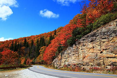 Photograph - Mountain Road In Autumn by Jill Lang