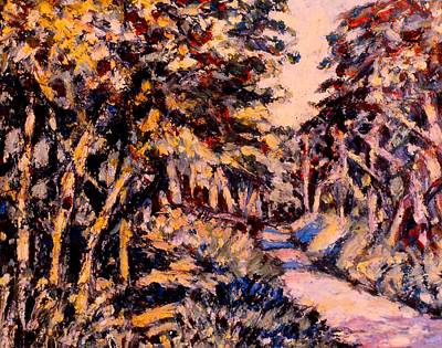 Painting - Mountain Road In Fall by Kendall Kessler
