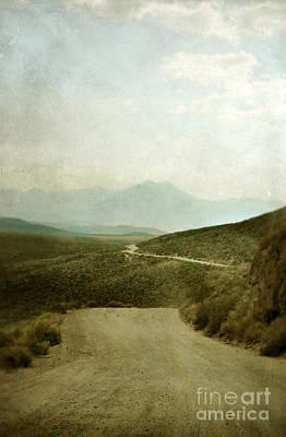 Mountain Road Art Print by Jill Battaglia