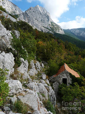 Photograph - Mountain Ruin by Phil Banks