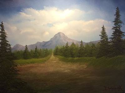 Painting - Mountain Run Road  by Justin Wozniak