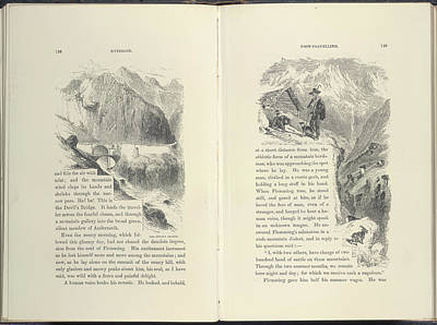 Mountain Scenes Art Print by British Library