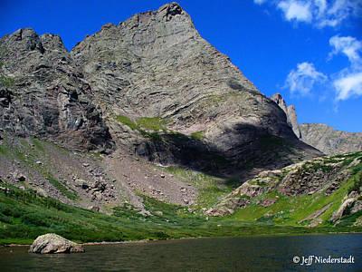 Photograph - Mountain Shadow by Jeff Niederstadt