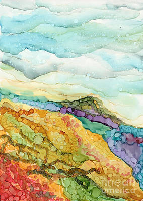 Painting - Mountain Side by Carolyn Weir