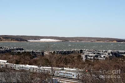 Photograph - Mountain Side View Of Gardiner's Bay by John Telfer