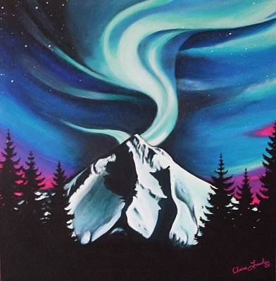 Wall Art - Painting - Mountain Spirit by Claire Frawley