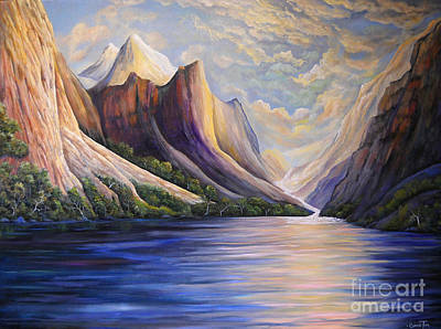 Painting - Mountain Splendor by Connie Tom
