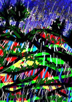 Mountain Storm Original by Paul Sutcliffe