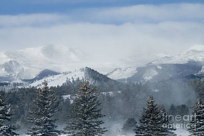 Steven Krull Royalty-Free and Rights-Managed Images - Mountain Storm by Steven Krull