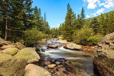 Photograph - Mountain Stream by Ben Graham
