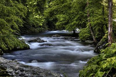Photograph - Mountain Stream by Coby Cooper