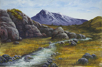 Painting - Mountain Stream by Darice Machel McGuire
