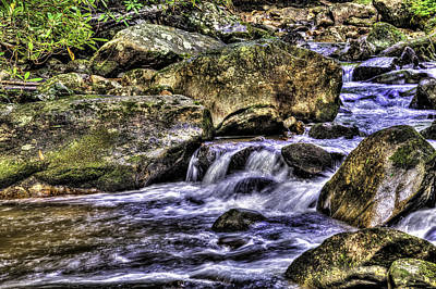Mountain Stream Art Print
