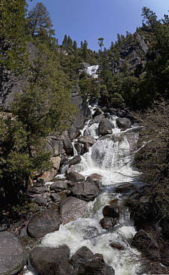 Photograph - Mountain Stream In Yosemite by Gregory Scott