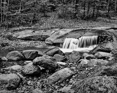 Photograph - Mountain Stream - Waterfall Over Boulders by Nikolyn McDonald