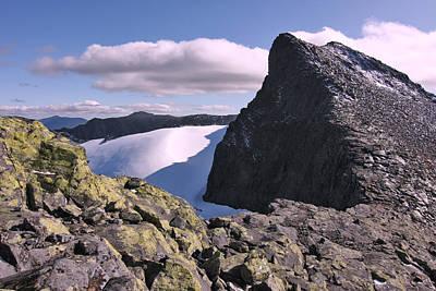Mountain Summit Ridge Art Print