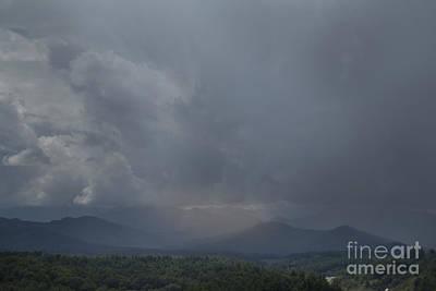 Photograph - Mountain Sun by Sally Simon