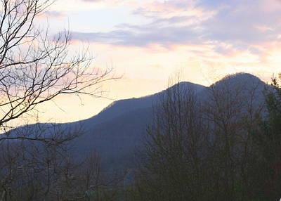 Photograph - Mountain Sunset Eight by Paula Tohline Calhoun