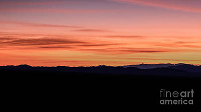 Photograph - Mountain Sunset by Julie Clements