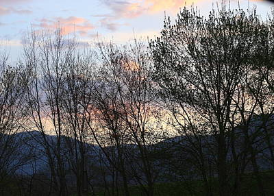 Photograph - Mountain Sunset Nine by Paula Tohline Calhoun