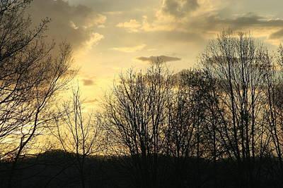 Photograph - Mountain Sunset One by Paula Tohline Calhoun