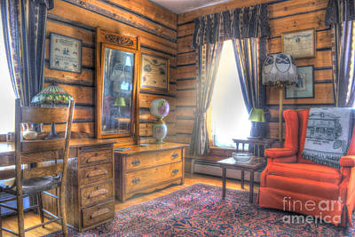 Old Home Place Photograph - Mountain Sweet Sitting Area by Juli Scalzi