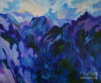Painting - Mountain Symphony by Alison Caltrider